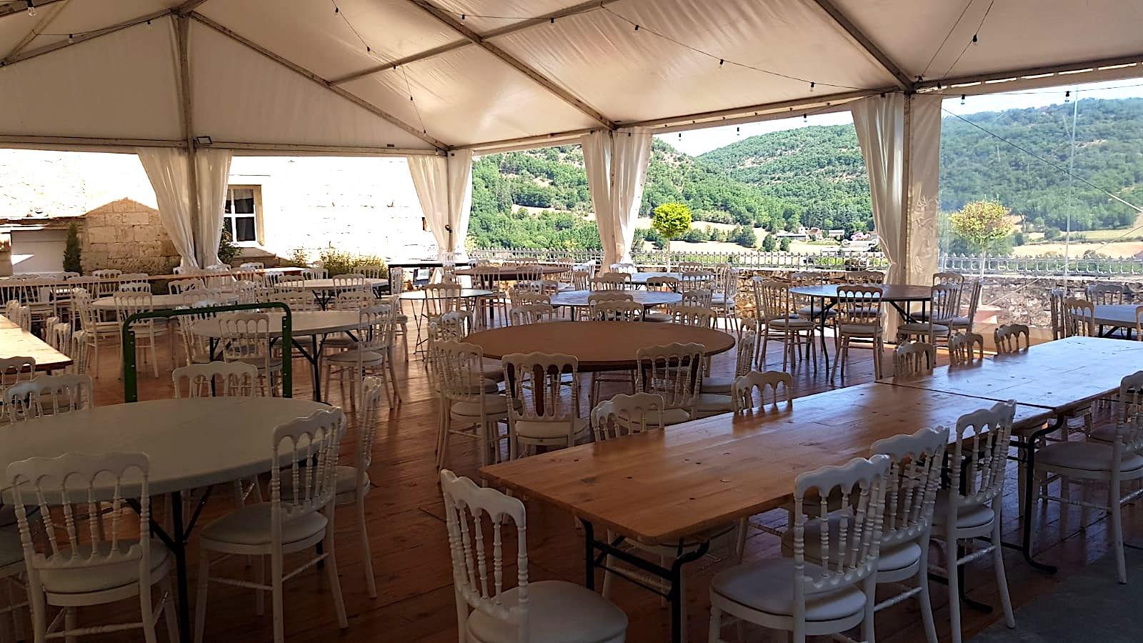 location chapiteau chateau mariage