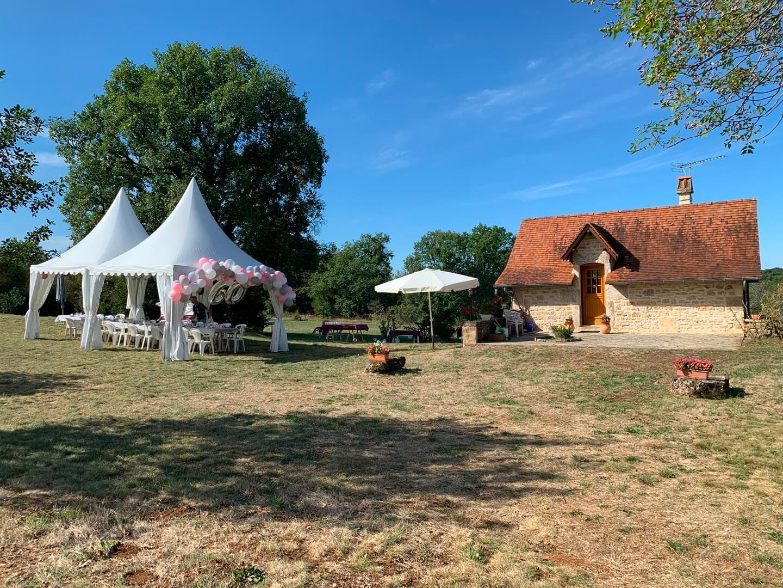 tentes cottages garden